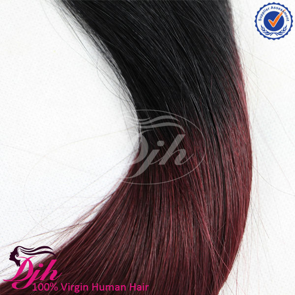 DIjun hair Ombre Hair , Brazilian Virgin straight Hair