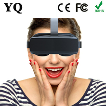 Newest Hot VR bo with magnetic HMD-518 3D VR glasses Wireless Wide Virtual 80inch 2D3D VR Virtual Reality