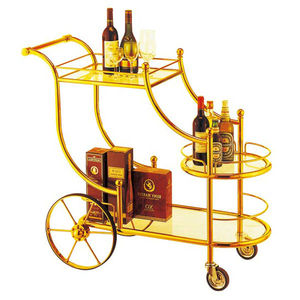 Hotel Metal Bar Trolley Cart