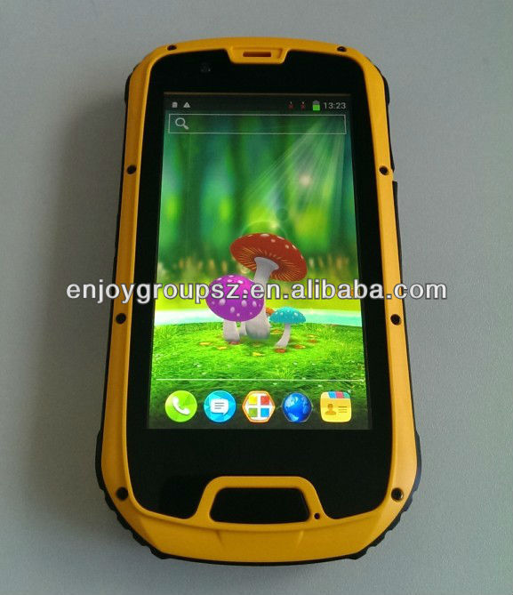 general black 4g lte wifi dual sim rugged mobile
