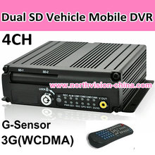 4 channel 3G car black box