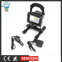 Aluminum portable outdoor 10W 20w 30w 50W rechargeable led floodlight