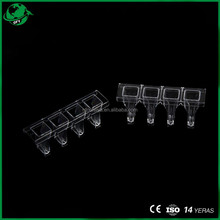 4Holes Laboratory Disposable Cuvette For Gtmsteellex PREIL STAGO USA Pacific German TECO