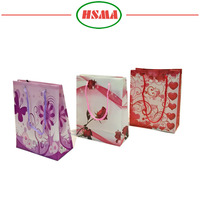 Hot sale wedding gift paper bag, popular paper bag gift, china gift paper bag manufacture
