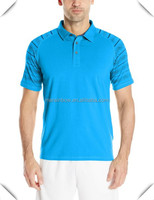 New wholesale sublimation golf wear customized high quality sport t shirt custom for men with premium quality