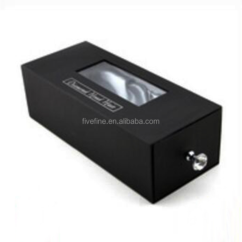 Custom made drawer style hair extension packaging box / gift packaging supplies