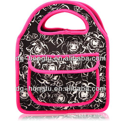 2013 Personalized Neoprene Lunch Bag for Adult to Keeping Food Hot