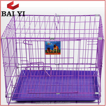 Cheap Pink Chain Link Dog Kennel And 3 Dog Kennel Run