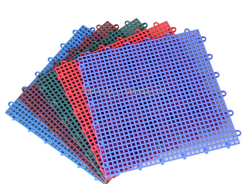 SUGE Interlocking Plastic Flooring For Sports Court