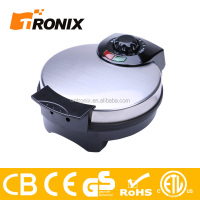 CE GS ROHS AND ETL LISTED STAINLESS STEEL WAFFLE MAKER