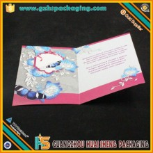 2015 Hot Sale Christmas Cards In English With 4/4 Printing By Professional Design