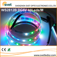 Section Control 5050 SMD Color Changing RGB Pixel Flexible Led Strip IC Controller WS2812B 5V 300Leds