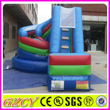 Newest giant inflatable spiral slide