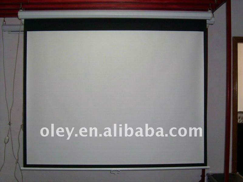 Manual Glass Beaded Projector Screen Manufacturer