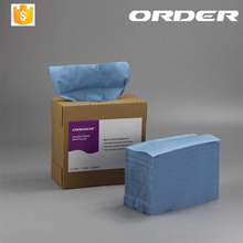 Woodpulp spunlace nonwoven industrial cleaning wipes