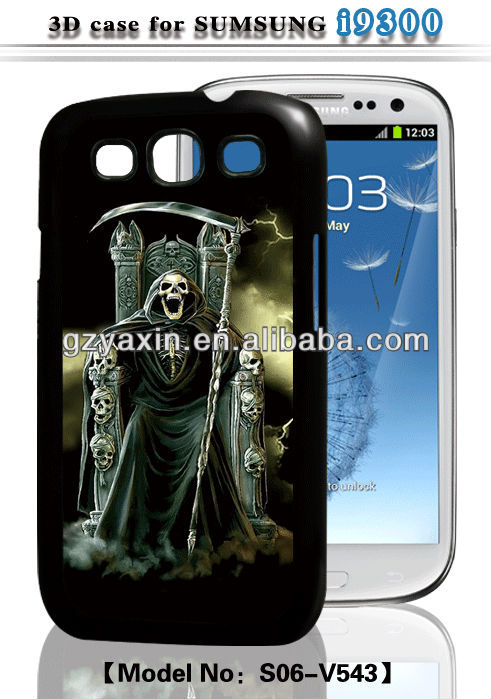Factory wholesale hot selling funny case for samsung galaxy s3 case,3d sublimation cases for samsung s3