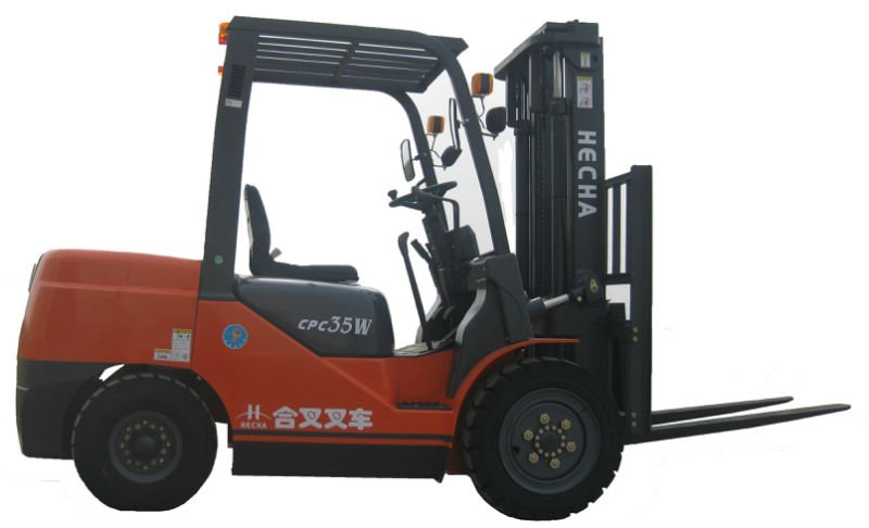 Hot sale 3.5 TON Manual Diesel forklift truck with CE certificate