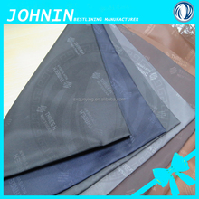 100% poly embossed lining fabric, high quality taffeta for luggage lining fabric