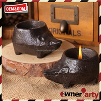 Animal Shape Wholesale Iron Candle Holder