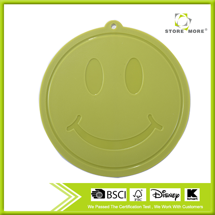 Cute Smile Face Cheese Cutting Board