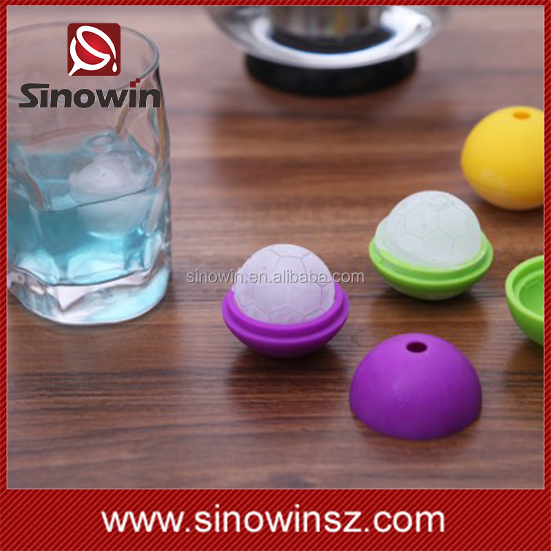 Hot Sale Whisky,Beer and Beverage drinking Silicone ice sphere mold