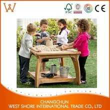 Hot Sale outdoor play equipment outdoor wood storage cabinets For Family Use