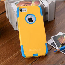 Hot selling combo silicone phone case for iphone/samsung/others