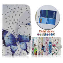 Wholesale color printing crystal diamond case cover for Micromax Bolt Q381 , flip leather case for Micromax Bolt Q381