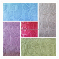 2014 household textile fancy lace ready made curtains plum curtains