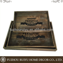 Alibaba online shopping cheap wooden wood tray,wooden food tray,wooden tray food