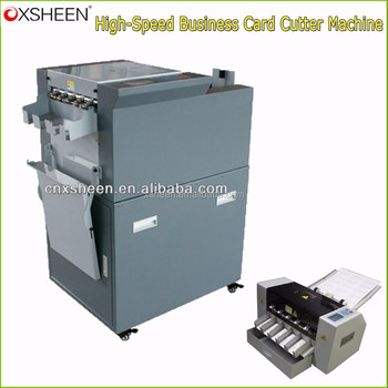 high speed electric business card cutter