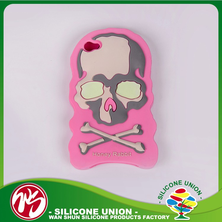 Extraordinary silicone custom anti-corrosion cell phone case