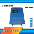 Double zone cost-effective security electric fence energizer
