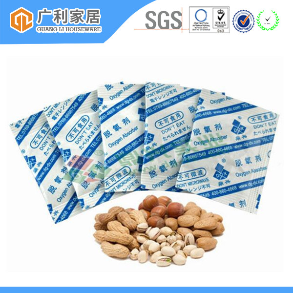 Food Grade Iron Powder 500Cc Oxygen Absorbers For Food Packaging
