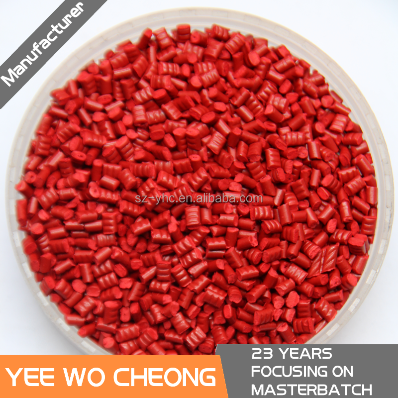 HOT!! red food grade masterbatch for ABS plastic