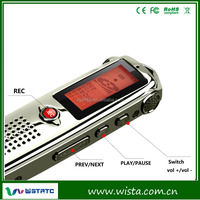 Long time and far distance digital voice recorder with remote control,micro hidden voice recorder