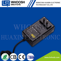 wall plug desktop 72w 24v 3a ac/dc switching power adapter