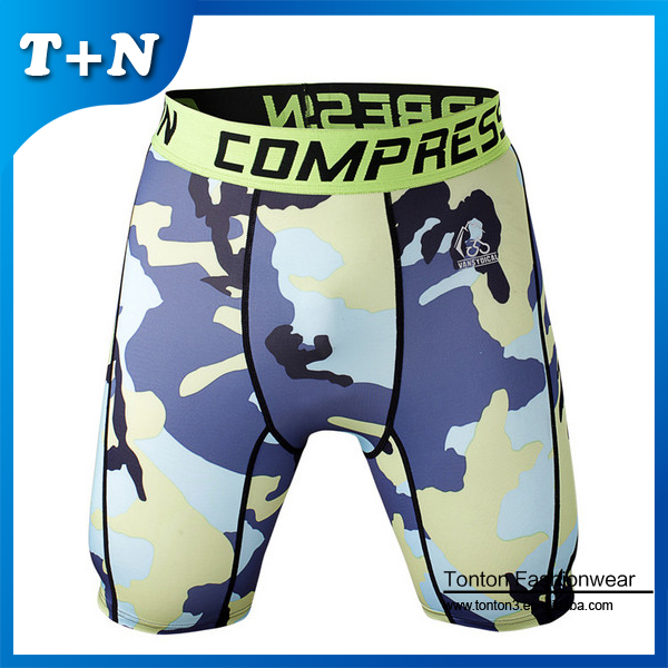 Nice Camo Running Shorts For Men Exercise Short Gym Wholesale Custom Made With Own Logo