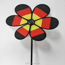 Hot sale polyester pinwheel home garden decoration <strong>windmill</strong> kids toy <strong>windmill</strong>