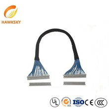 40pin To 30pin OEM PVC Cable Assembly Ipex Lvds Cable Led To Lcd Converter Cable