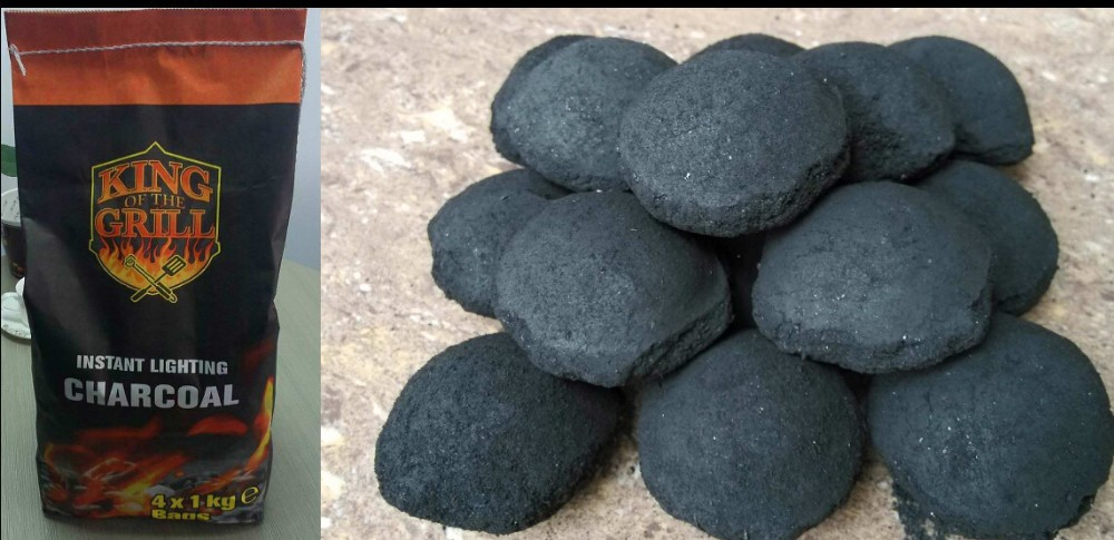 5KG Safe Environmental Natural Quality Charcoal for BBQ