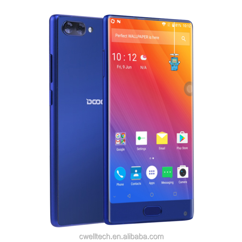 "Doogee Mix mobile <strong>phone</strong> 4G LTE 5.5"" bezel-less HD Helio P25 Octa Core 4GB/6GB+64GB Android 7.0 Dual Rear camera 16MP Smartphone"