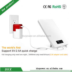 Made In China High Capacity 20000Mah Power Bank Led Indicator Portable Powerbank For Smart Devices