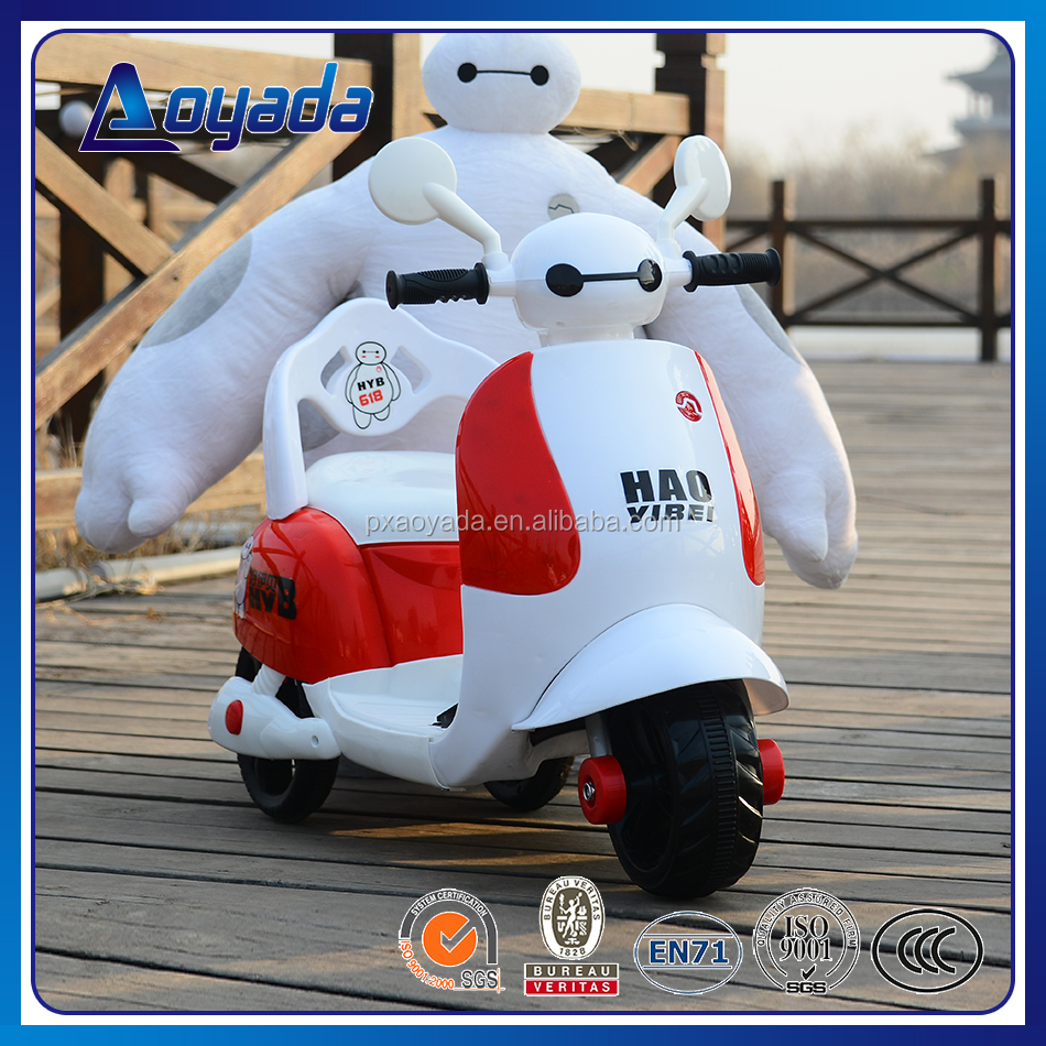 Aoyada new style and lovely kids mini electric motorcycle for child to ride on car