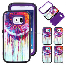 3 in 1 Hybrid case cover mobile shell s6 phone covers for samsung galaxy S6