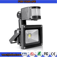 10w led flood light Motion Sensor Waterproof Security Lights with PIR for Home,Garden,Garage etc