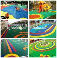 sports rubber floor surfaces/playgrounds/running tracks epdm granules and pu binder-g-y-160804