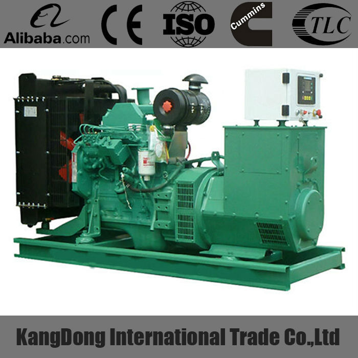 50KW powered by 4BTA3.9-G2 diesel generator with competitive price on sale