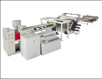 PE PP PS ABS Sheet Extrusion Line/Plastic Sheet Extruder Making Machine