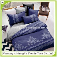 high quality 100% polyester microfiber disperse printed 3d duvet cover set